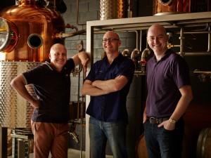 Four Pillars Gin team