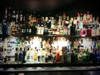 The range of Gin at the Gin Palace in Melbourne
