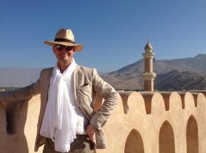 yours truly in Nizwa Oman